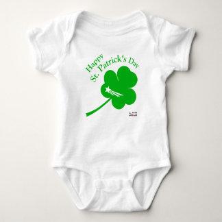 Body Para Bebê NationOfImmigrants - dia de St Patrick