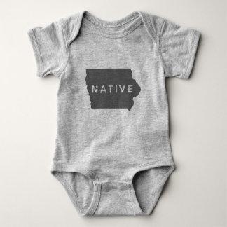 Body Para Bebê Nativo de Iowa