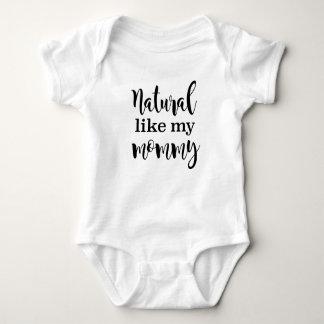 Body Para Bebê Natural como meu t-shirt natural do cabelo das