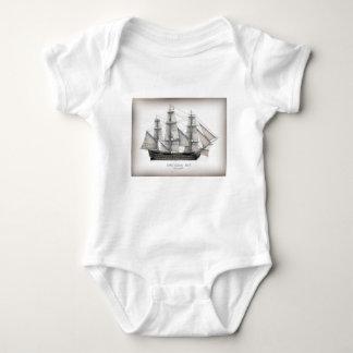Body Para Bebê Navio 1805 da vitória