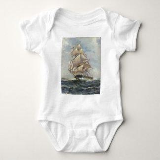 Body Para Bebê Navio de navigação antigo