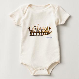 Body Para Bebê Navio do dragão das ideias da caverna do homem com