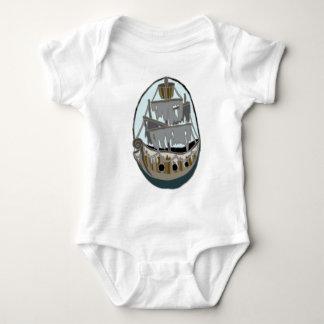 Body Para Bebê Navio do fantasma