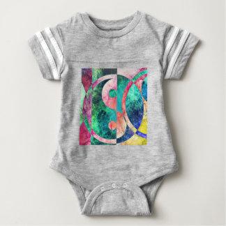 Body Para Bebê Nebulosa abstrata de Yin Yang
