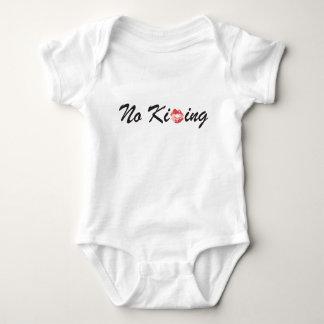Body Para Bebê Nenhum beijo