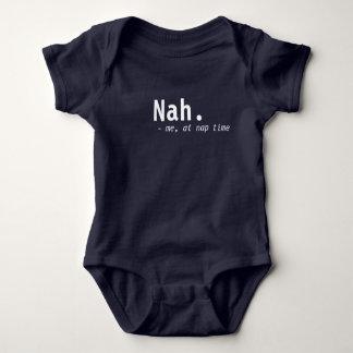 Body Para Bebê nenhum bodysuit da sesta