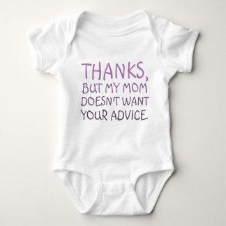 Body Para Bebê Nenhum conselho