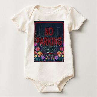Body Para Bebê Nenhum estacionamento