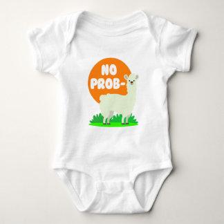 Body Para Bebê Nenhum Prob-Lama - nenhum lama do problema -