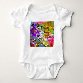Body Para Bebê Nenhuma necessidade de falar entre notas musicais