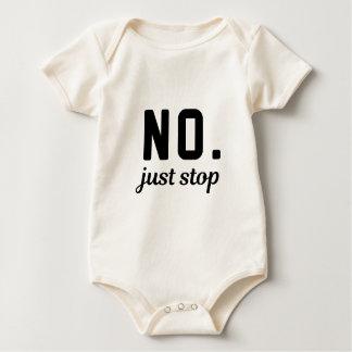 Body Para Bebê Nenhuma parada justa