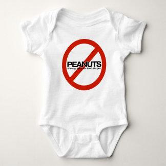 Body Para Bebê Nenhuns amendoins