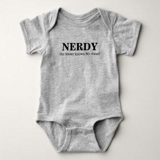 Body Para Bebê Nerdy, 8o anão