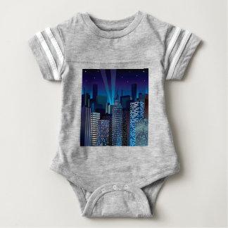 Body Para Bebê NightCityScape_VectorDTL