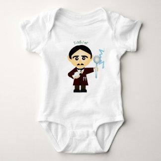 Body Para Bebê Nikola Tesla