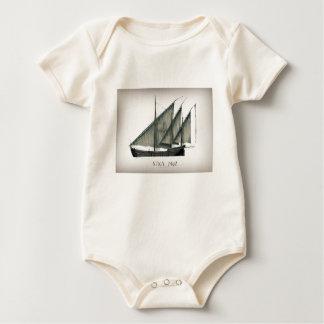 Body Para Bebê Nina 1492 por Tony Fernandes