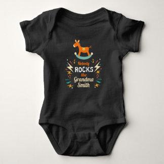 Body Para Bebê Ninguém balança como o Bodysuit de Smith da avó