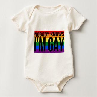 Body Para Bebê Ninguém sabe que eu sou alegre