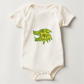 Body Para Bebê Nó celta principal do varrão