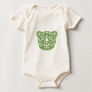 Body Para Bebê Nó do céltico do urso