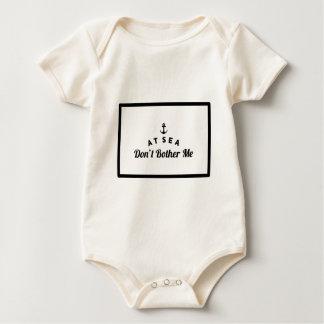 Body Para Bebê No mar não me incomode