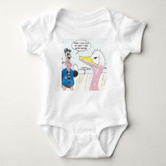 Body Para Bebê Nó que sente o?