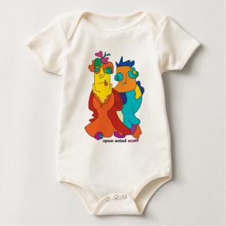 Body Para Bebê noa ingénuo da arte do casal surrealista