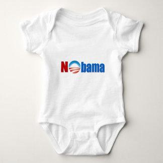 Body Para Bebê Nobama - nenhum Obama