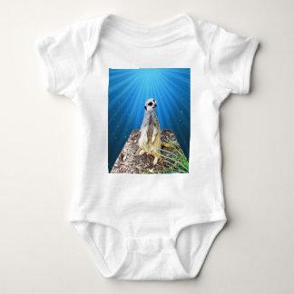 Body Para Bebê Noite azul de Meerkat, _
