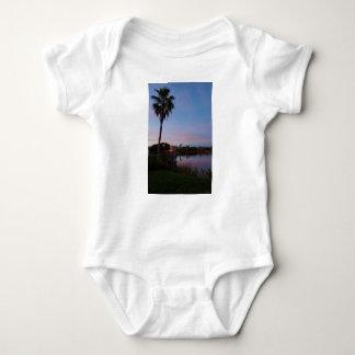Body Para Bebê Noite pela palmeira