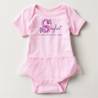 Body Para Bebê Nome das meninas de Skylar & significado do romper