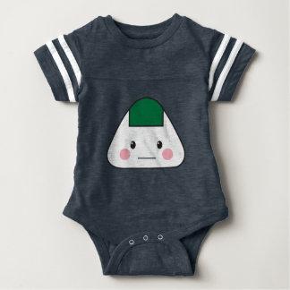 Body Para Bebê Nori japonês da alga da bola de arroz do omusubi