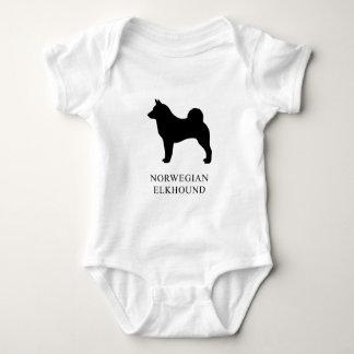 Body Para Bebê Norueguês Elkhound