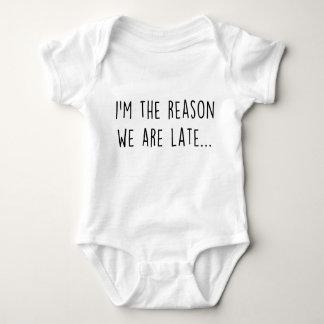 Body Para Bebê Nós estamos atrasados