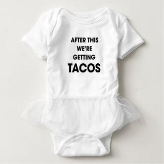 Body Para Bebê Nós estamos obtendo o Tacos