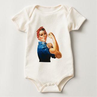 Body Para Bebê Nós podemos fazê-lo Rosie que as mulheres do