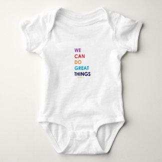 Body Para Bebê Nós podemos fazer grandes coisas