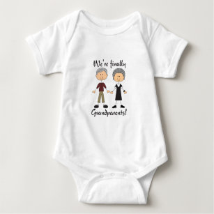 Body Para Bebê Nós somos finalmente avós!