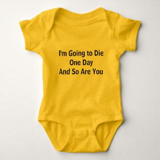 Body Para Bebê Nós somos todos que vão morrer