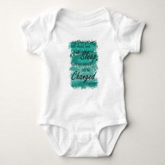 Body Para Bebê Nós todos seremos azul mudado