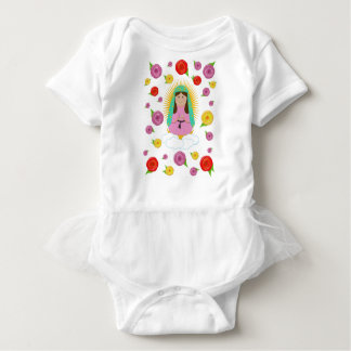 Body Para Bebê Nossa senhora de Guadalupe
