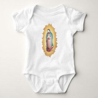 Body Para Bebê Nosso design do mosaico da senhora Guadalupe