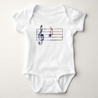 Body Para Bebê Nota musical