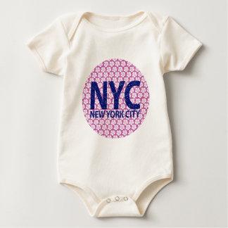 Body Para Bebê Nova Iorque NYC
