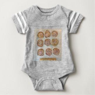 Body Para Bebê Nove bolos um bar do bordo