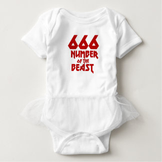 Body Para Bebê Número do animal