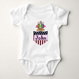 Body Para Bebê Número um John