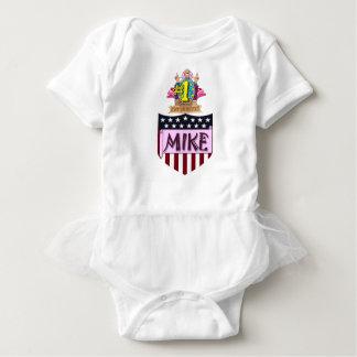 Body Para Bebê Número um Mike