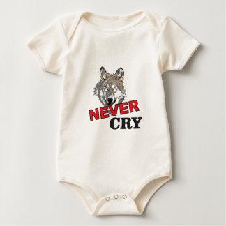Body Para Bebê nunca grita o lobo