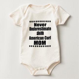 Body Para Bebê Nunca subestime a mamã americana da onda